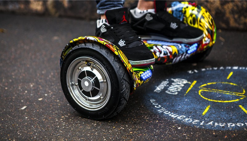 гироскутер и ноги