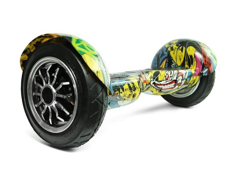 6 гироскутер smart balance offroad граффити