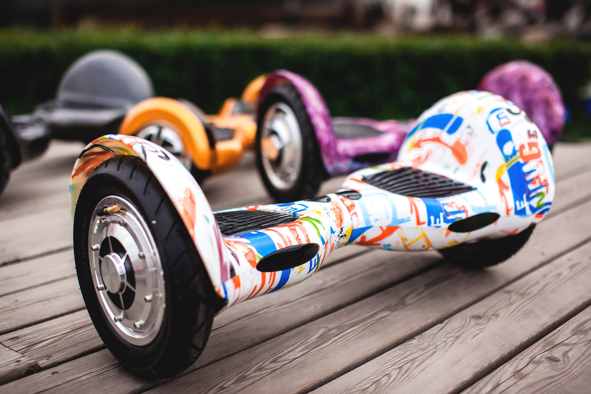 Тренд 2018: детские гироскутеры