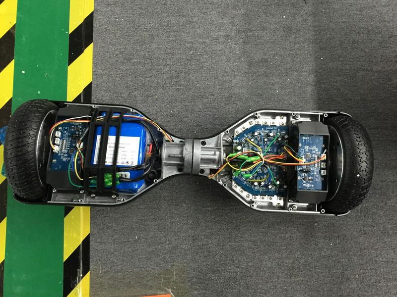 Внутренности качественного гироскутера