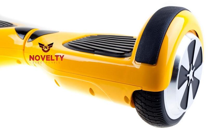 желтый гироскутер