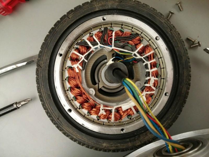 Мотор гироскутера