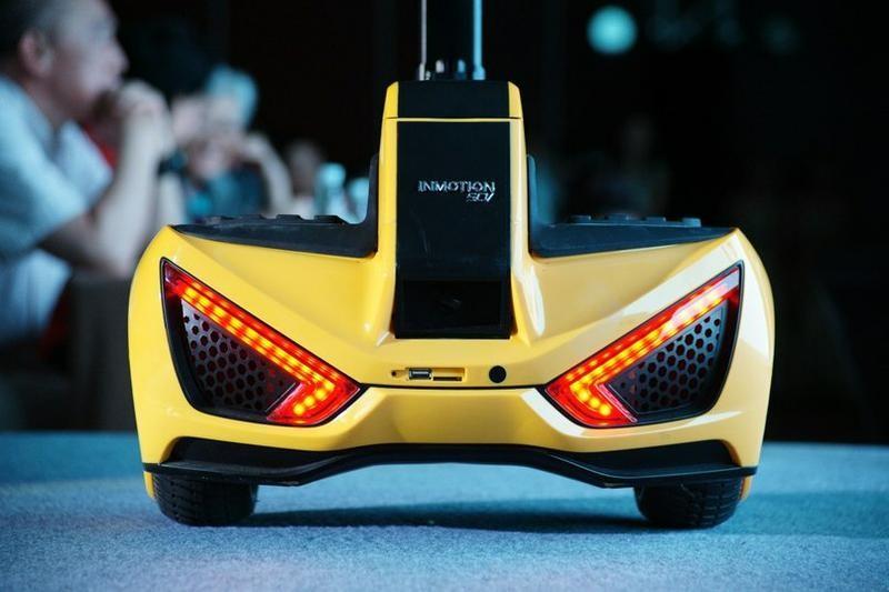 Мини-сигвей транспорт будущего